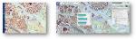Ilustracja przedstawia dwa fragmenty mapy obok siebie. Na pierwszym jest przedstawiony zaktualizowany zbiór danych BDOT10k dla fragmentu miasta Wrocław w PortaluBDOT10k, a na drugim w usłudze Baza Danych Obiektów Topobraficznych