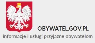 Logotyp obywatel.gov.pl Godło oraz nazwa Obywatel.gov.pl informacje i usługi przyjazne obywatelom