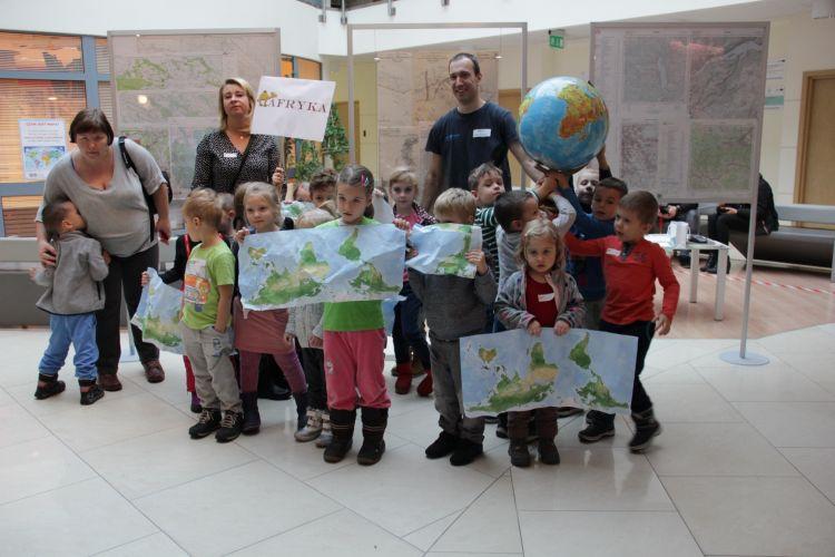 Przedszkolaki i ich mapy
