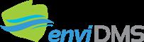 Logotyp projektu enviDMS  - nazwa projektu