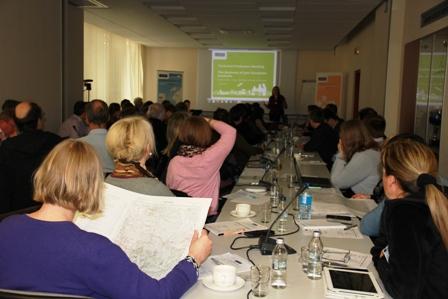 Warsztaty - uczestnicy spotkania EuroGeographics