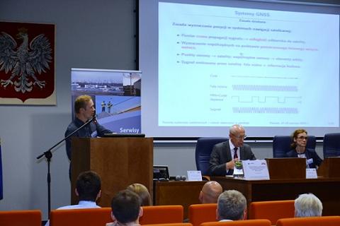 Wiesław Graszka w trakcie prezentacji