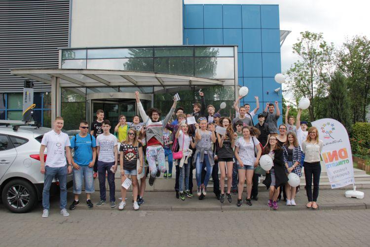 Wspólne zdjęcie uczestników dni otwartych