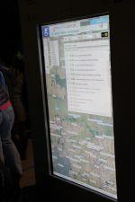 Przeglądarka map - ekran